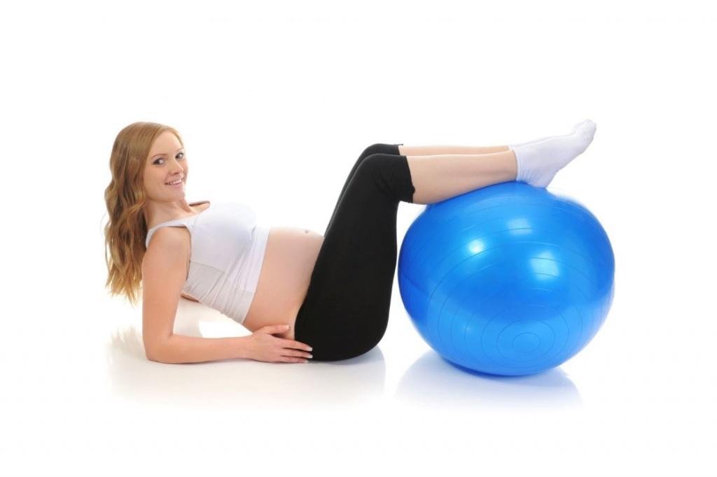 Для беременных занятия на мяче для 56